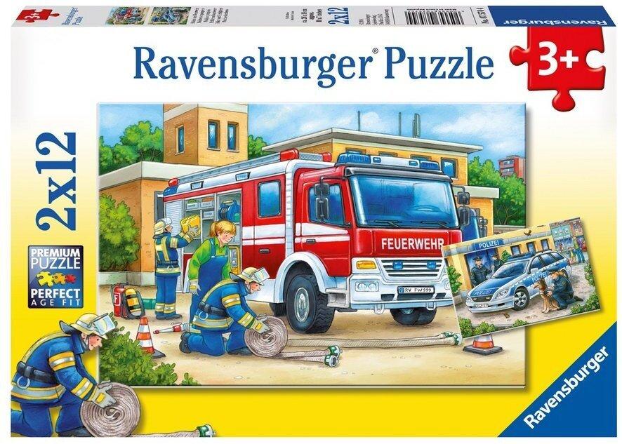 Polizei und Feuerwehr - Puzzle