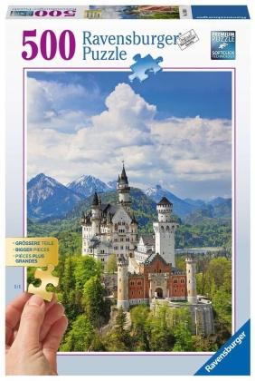 Märchenhaftes Schloss - 500 Teile Puzzle