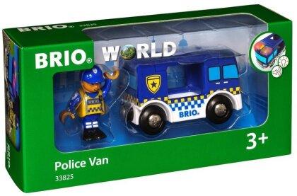 BRIO Bahn 33825 Polizeiwagen Light & Sound