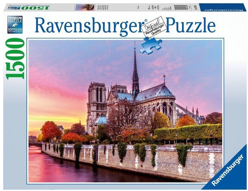 Malerisches Notre Dame - Puzzle
