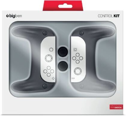 Nintendo Switch Grip-Set 2-pack - black