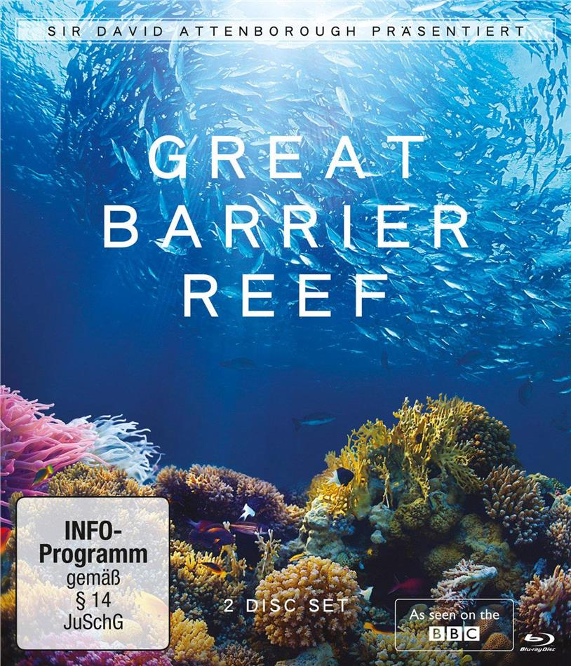 Great Barrier Reef - David Attenborough (BBC, 2 Blu-rays)