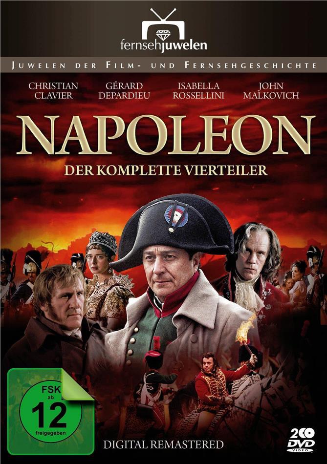 Napoleon - Der komplette Vierteiler (2002) (Fernsehjuwelen, Remastered, 2 DVDs)