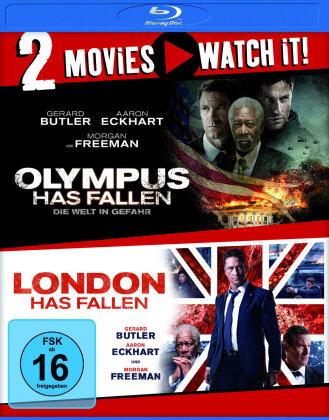 Olympus Has Fallen / London Has Fallen (2 Blu-rays)