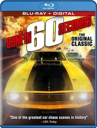 Gone In 60 Seconds (1974) (Remastered, Restaurierte Fassung)