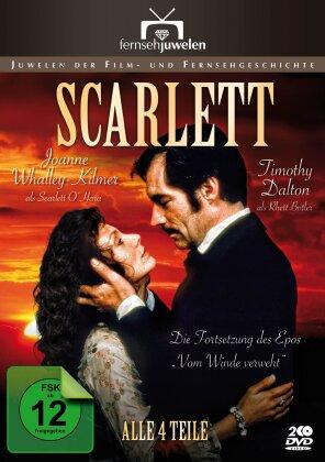 Scarlett - Teil 1 - 4 (1994) (Fernsehjuwelen, 2 DVDs)