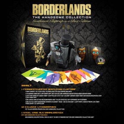 Borderlands Gentleman Claptrap Box Edition Collectors Box