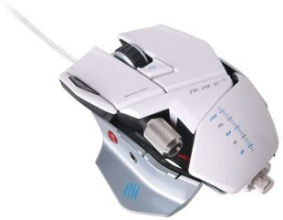 R.A.T. 5 Gaming Mouse 5600 DPI - white