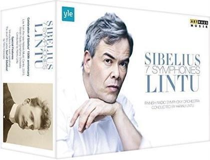 Finnish Radio Symphony Orchestra & Hannu Lintu - Sibelius - 7 Symphonies - Sort of Sibelius! (Arthaus, Box, 3 Blu-rays)