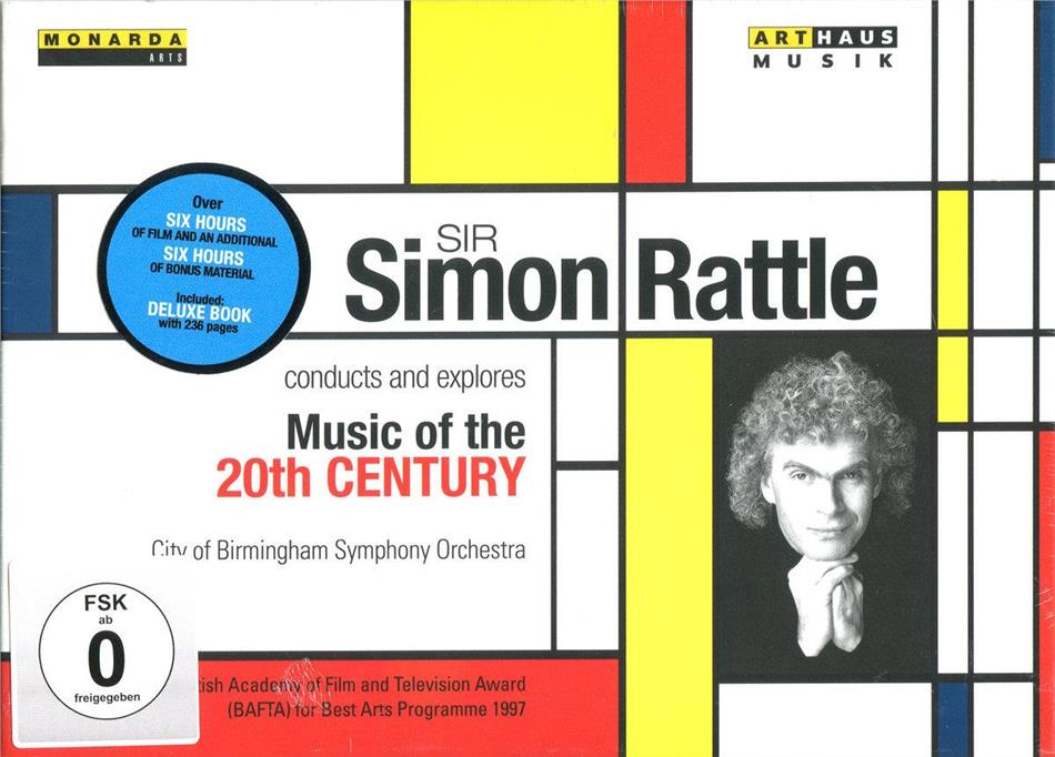 City of Birmingham Symphony Orchestra & Sir Simon Rattle - Sir Simon Rattle conducts and explores Music of the 20th Century (Arthaus, Box, 5 DVDs)