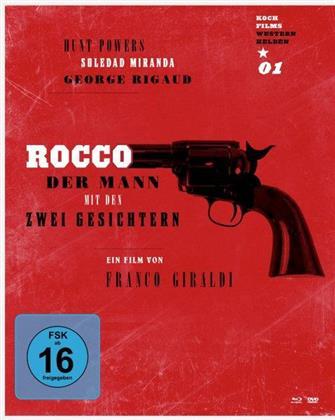 Rocco - Der Mann mit den zwei Gesichtern (1966) (Western Helden, Blu-ray + DVD)