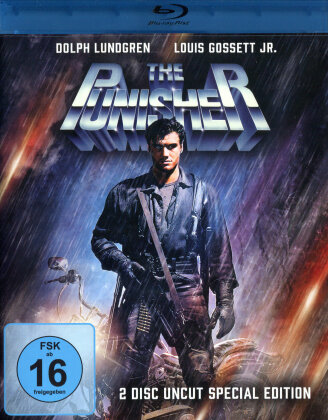 The Punisher (1989) (Special Edition, Uncut, Blu-ray + DVD)