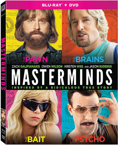 Masterminds (2015) (Blu-ray + DVD)