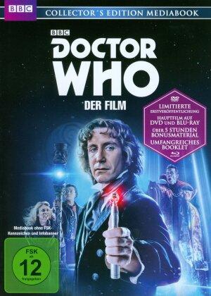 Doctor Who - Der Film (1996) (BBC, Collector's Edition, Mediabook, Blu-ray + DVD)