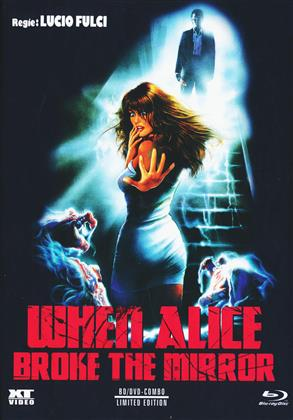 When Alice Broke The Mirror (1988) (Cover A, Limited Edition, Mediabook, Blu-ray + DVD)