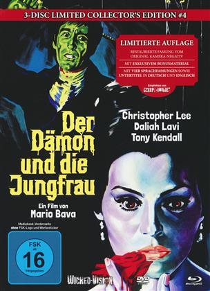 Der Dämon und die Jungfrau (1963) (Cover A, Limited Collector's Edition, Mediabook, Uncut, Blu-ray + 2 DVDs)