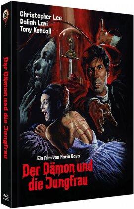 Der Dämon und die Jungfrau (1963) (Cover B, Collector's Edition, Limited Edition, Mediabook, Uncut, Blu-ray + 2 DVDs)