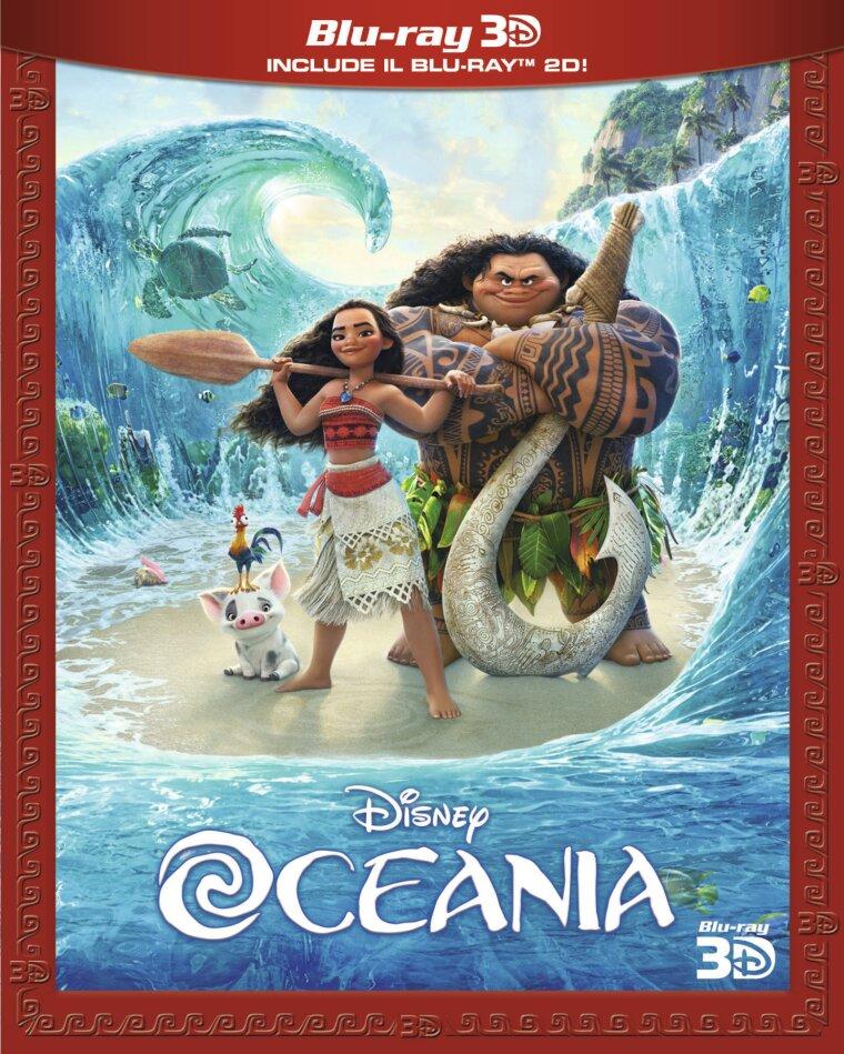 Oceania (2016) (Blu-ray 3D + Blu-ray)