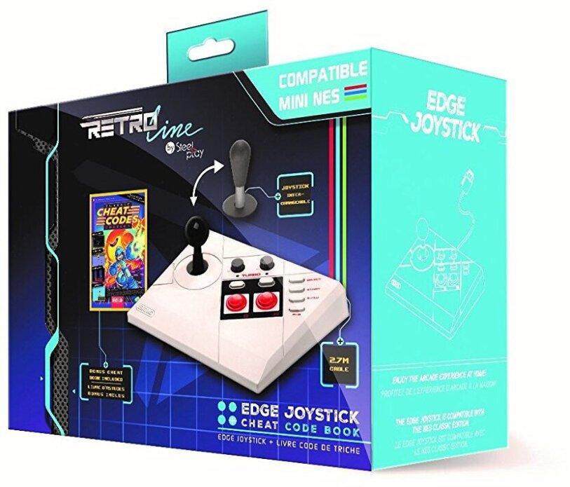 NES mini Joystick kabel Steelplay Arcade Stick - incl Cheats Buch