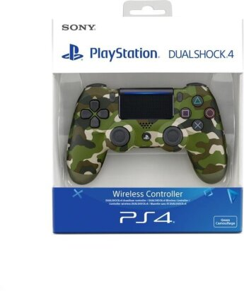 PS4 Dualshock 4 Wireless Controller - camouflage green