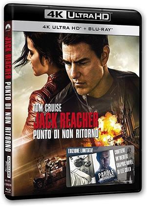 Jack Reacher 2 - Punto di non ritorno (2016) (4K Ultra HD + Blu-ray)