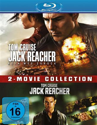 Jack Reacher / Jack Reacher 2 - Kein Weg zurück (2 Blu-rays)
