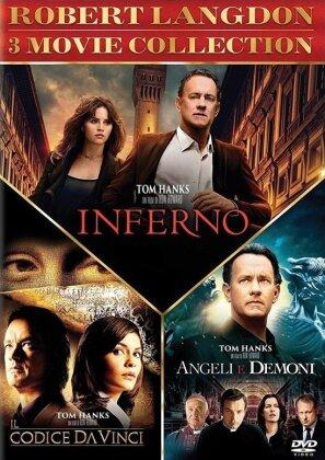 Robert Langdon 3 Movie Collection - Inferno / Il codice Da Vinci / Angeli e demoni (3 DVD)