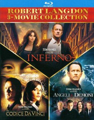 Robert Langdon 3-Movie Collection - Inferno / Il codice Da Vinci / Angeli e demoni (3 Blu-ray)