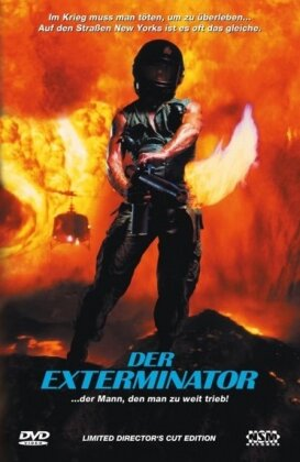 The Exterminator (1980) (Cover B, Hartbox, Director's Cut, Limited Edition)