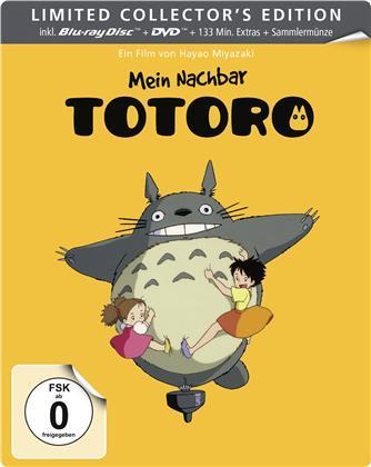 Mein Nachbar Totoro (1988) (Collection Studio Ghibli, Collector's Edition Limitata, Steelbook, Blu-ray + DVD)