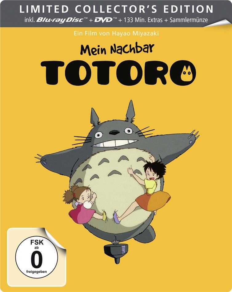 Mein Nachbar Totoro (1988) (Collection Studio Ghibli, Limited Collector's Edition, Steelbook, Blu-ray + DVD)