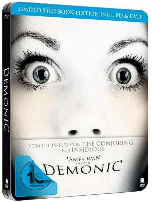 Demonic (2015) (Steelbook, Blu-ray + DVD)