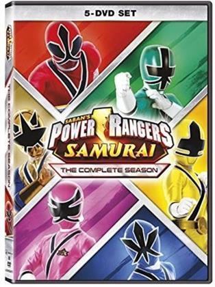 Power Rangers - Samurai - The Complete Season 18 (5 DVDs)