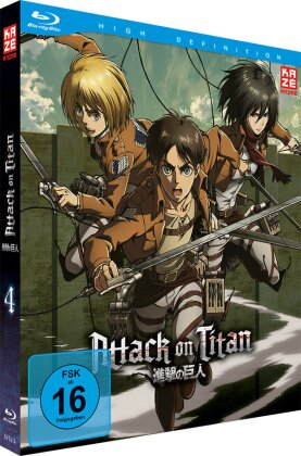 Attack on Titan - Staffel 1 - Vol. 4 (Limited Edition)