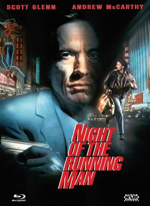 Night of the Running Man (1995) (Cover B, Limited Edition, Mediabook, Blu-ray + DVD)