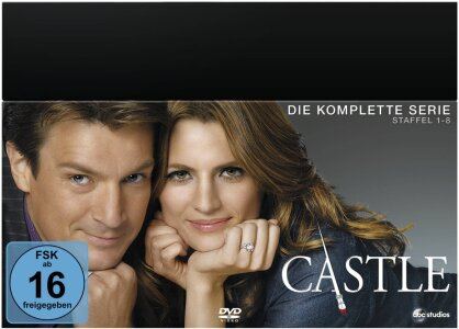 Castle - Staffel 1-8 - Die komplette Serie (45 DVDs)