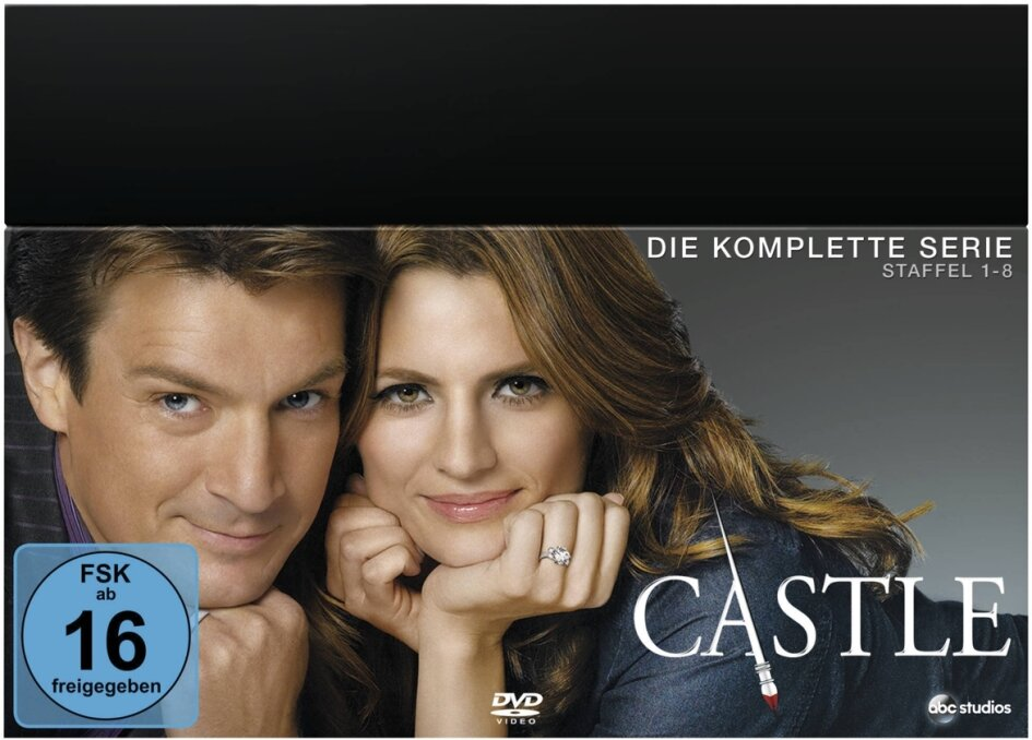 castle staffel 8 auf dvd