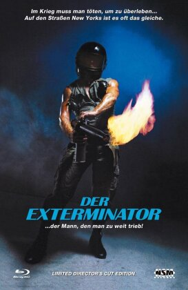 Der Exterminator (1980) (Grosse Hartbox, Cover A, Director's Cut, Limited Edition)