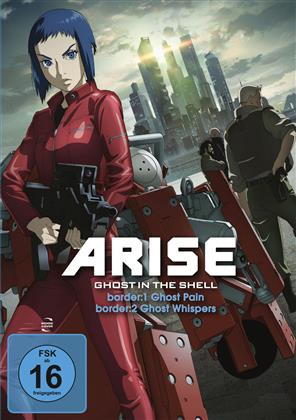 Ghost in the Shell: Arise - Border 1: Ghost Pain / Border 2: Ghost Whispers (2 DVDs)
