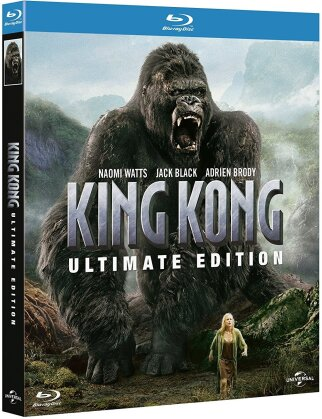 King Kong (2005) (Extended Edition, Kinoversion, Ultimate Edition, 2 Blu-rays)