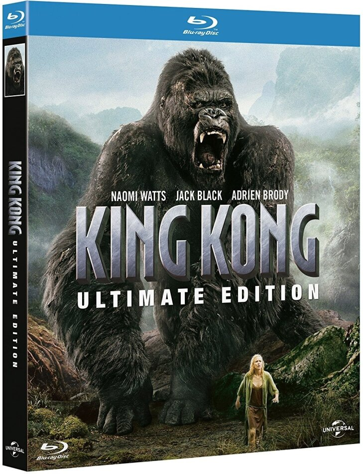 King Kong (2005) (Extended Edition, Kinoversion, Ultimate Edition, 2 Blu-rays)