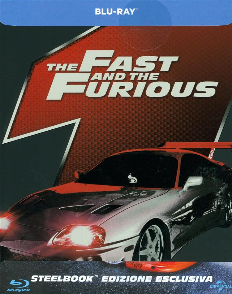 The Fast and Furious (2001) (Limited Edition, Steelbook)