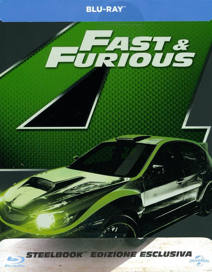 Fast and Furious 4 - Solo parti originali (2009) (Limited Edition, Steelbook)