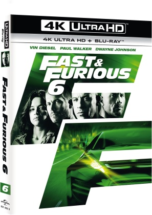 Fast & Furious 6 (2013) (4K Ultra HD + Blu-ray)