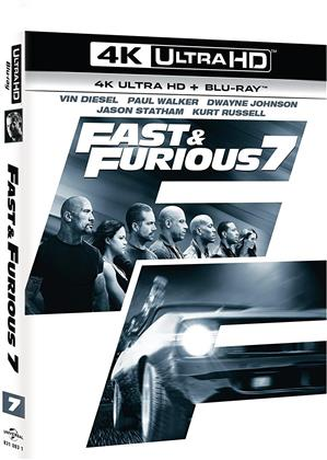 Fast & Furious 7 (2015) (Versione Cinema, 4K Ultra HD + Blu-ray)