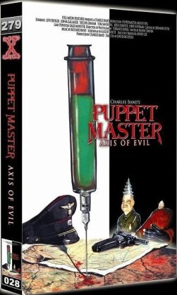 Puppet Master - Axis of Evil (2010) (Grosse Hartbox, Limited Edition, Uncut)