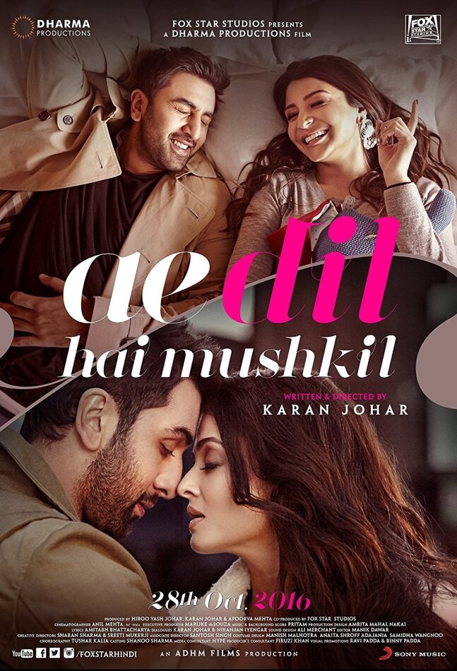 Die Sehnsucht meines Herzens - Ae Dil Hai Mushkil (2016) (+ Poster, 20th Anniversary Limited Coll. Edition, Limited Edition)