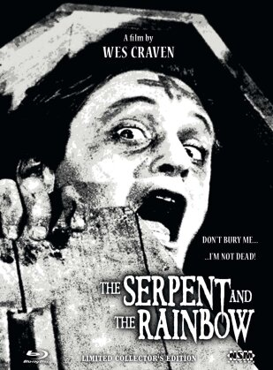 The Serpent and the Rainbow (1988) (Cover B, Collector's Edition, Edizione Limitata, Mediabook, Uncut, Blu-ray + DVD)