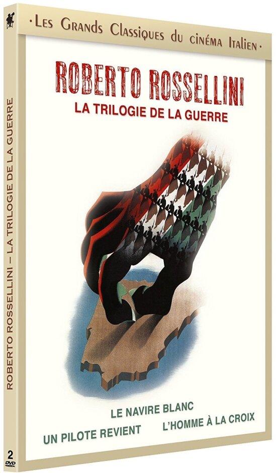 Roberto Rossellini - La trilogie de la guerre (Les grands classiques du cinéma italien, s/w, Digibook, 2 DVDs)
