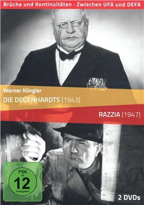 Die Degenhardts / Razzia (Brüche Und Kontinuitäten - Zwischen UFA und DEFA, s/w, 2 DVDs)